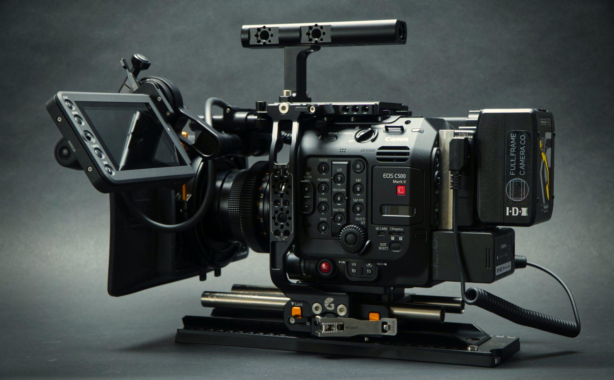 Canon C500 mkII