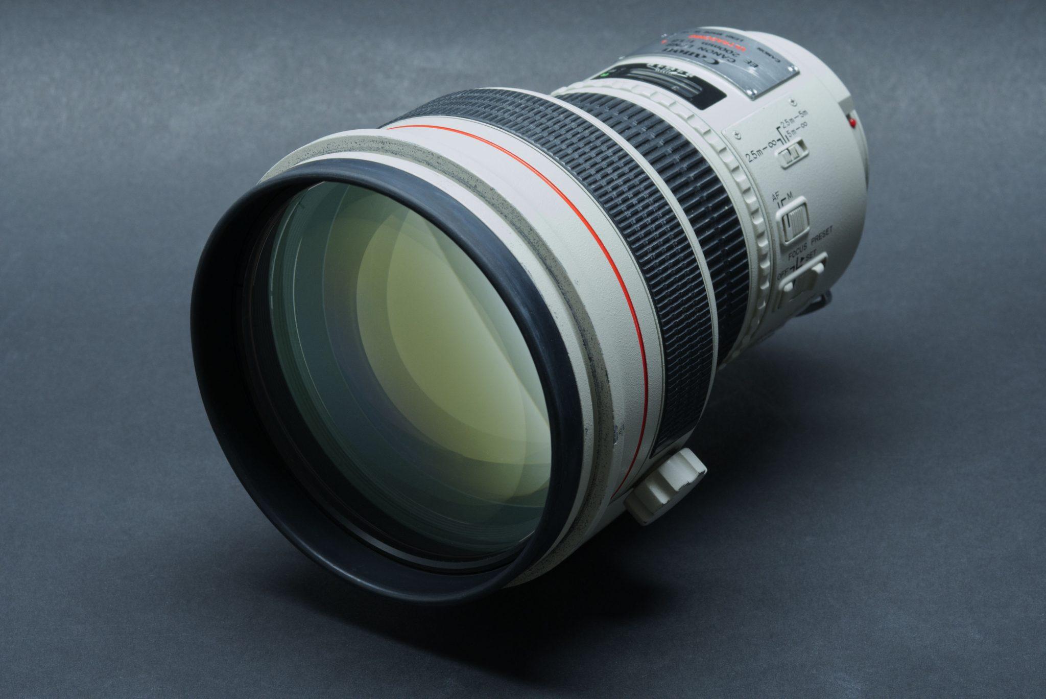 Canon 200mm f/1.8